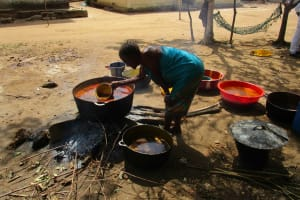 The Water Project: Mummy Ann's Pre-Primary School -  Cooking Palm