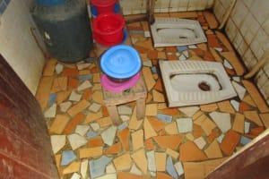The Water Project: Mummy Ann's Pre-Primary School -  School Toilets
