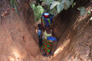 The Water Project: Mummy Ann's Pre-Primary School -  Woman Carrying Water