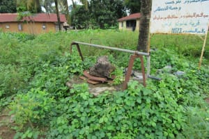 The Water Project: Gbontho Lane, Behind Gbontho Mosque -  Broken Down Well