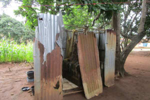 The Water Project: Gbontho Lane, Behind Gbontho Mosque -  Latrine