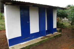 The Water Project: Rowana Junior Secondary School -  Latrines