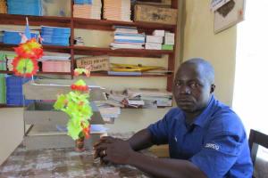 The Water Project: Rowana Junior Secondary School -  Mr David B Conteh