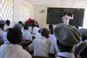 The Water Project: Rowana Junior Secondary School -  Ongoing Lesson