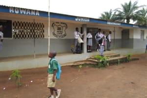 The Water Project: Rowana Junior Secondary School -  School Building