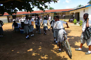 The Water Project: Rowana Junior Secondary School -  Students Outside