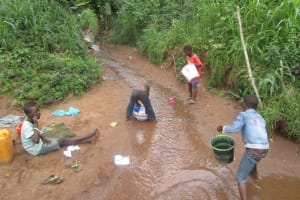 The Water Project: 45 Main Motor Road, The Redeemed Christian Church of God -  Children Fetch Water