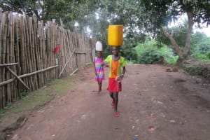 The Water Project: 45 Main Motor Road, The Redeemed Christian Church of God -  Returning Home With Water