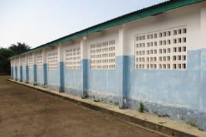 The Water Project: UBA Senior Secondary School -  Back Of School Building