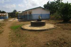 The Water Project: UBA Senior Secondary School -  Broken Well To Be Repaired And School Buildings