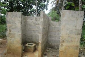 The Water Project: UBA Senior Secondary School -  Community Latrines