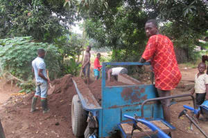 The Water Project: UBA Senior Secondary School -  Preparing Soil For Farming