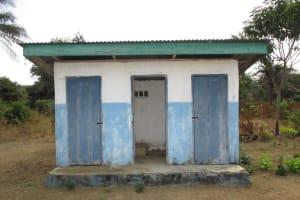 The Water Project: UBA Senior Secondary School -  School Latrines