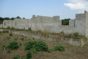 The Water Project: UBA Senior Secondary School -  Unfinished School Building