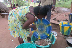 The Water Project: UBA Senior Secondary School -  Washing Fish