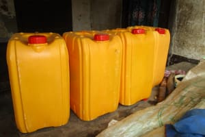 The Water Project: UBA Senior Secondary School -  Water Storage