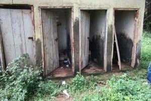 The Water Project: DEC Makassa Primary School -  Latrines