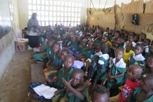 The Water Project: DEC Makassa Primary School -  In Class