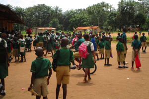 The Water Project: DEC Makassa Primary School -  Outside