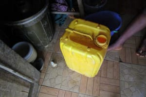 The Water Project: DEC Makassa Primary School -  Storage Container