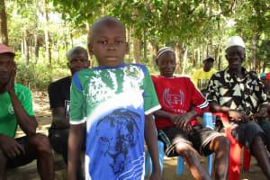 The Water Project: Lungi, Tonkoya Village -  Amidu Conteh