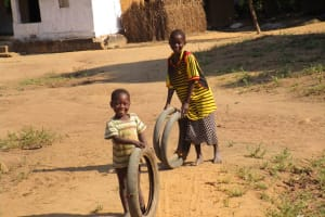 The Water Project: Lungi, Tonkoya Village -  Children Playing