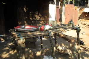 The Water Project: Lungi, Tonkoya Village -  Dish Drying Rack