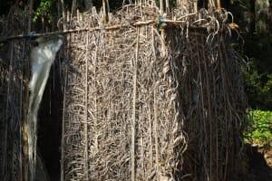 The Water Project: Lungi, Tonkoya Village -  Example Latrine