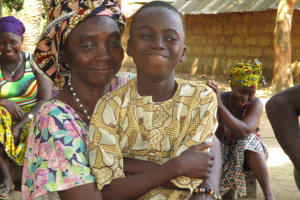 The Water Project: Lungi, Tonkoya Village -  Gibrila Conteh