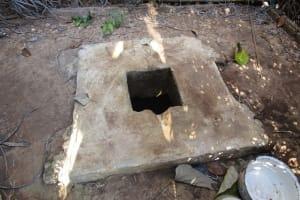 The Water Project: Lungi, Tonkoya Village -  Latrine