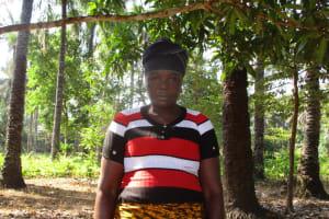 The Water Project: Lungi, Tonkoya Village -  Mamie Kamara