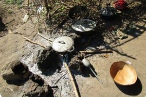 The Water Project: Lungi, Tonkoya Village -  Outdoor Kitchen