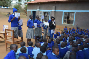 The Water Project: Kitandi Primary School -  Training