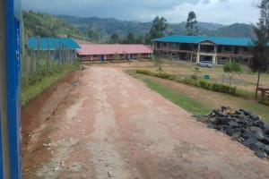 The Water Project: Dr. Gimose Secondary School -  Road Leading Into School