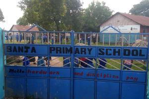 The Water Project: Banja Primary School -  School Gate