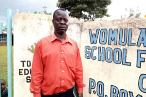 The Water Project: Womulalu Special School -  George Kunza