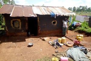 The Water Project: Hirumbi Community, Khalembi Spring -  Household
