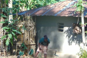 The Water Project: Shamiloli Community, Kwasasala Spring -  Working In The Garden
