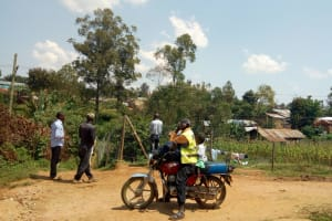 The Water Project: Lutonyi Community, Lutomia Spring -  The Man Who Drove Us To The Community