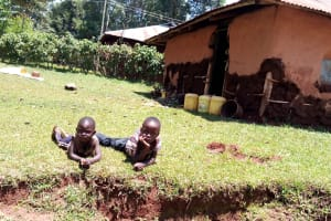 The Water Project: Kitulu Community, Kiduve Spring -  Household