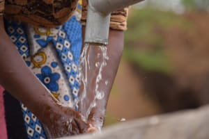 The Water Project: Katalwa Community A -  Water Flowing