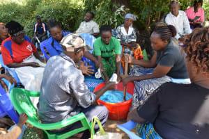The Water Project: Munyuni Community -  Soap Training