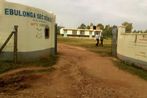The Water Project: Ebulonga Mixed Secondary School -  Carrying Water To Class