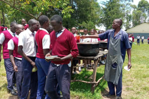 The Water Project: Ematiha Secondary School -  Lunch Break