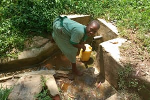 The Water Project: Bugute Lutheran Primary School -  Fetching Water