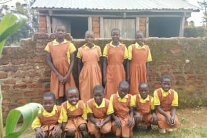 The Water Project: St. Margret Wadin'go Primary School -  Latrines