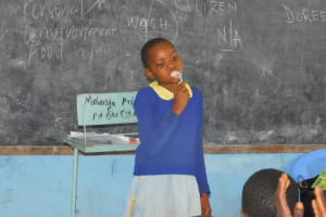 The Water Project: Mabanga Primary School -  Toothbrushing Demonstration