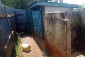 The Water Project: Ebulonga Mixed Secondary School -  Latrines