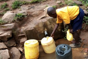 The Water Project: Friends Primary School Givogi -  Fetching Water