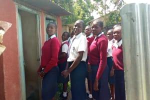 The Water Project: Ematiha Secondary School -  Latrines